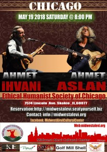 Concert: Ahmet İhvani & Ahmet Aslan, May 19th 2018